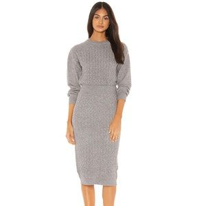 Asher Skirt in Heather